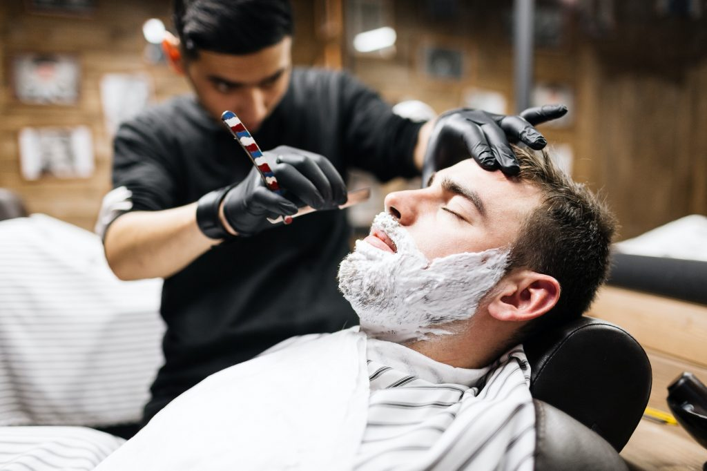 Client of barber